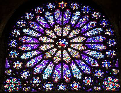 Saint Denis basilica, rose window